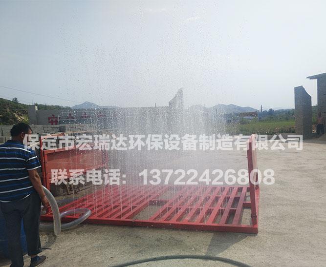 唐县砖厂 ● HTD-100T工程车洗轮机视频展示