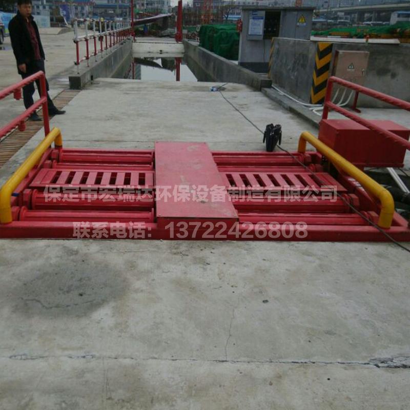 HRD-100G-B八轴基坑洗轮机