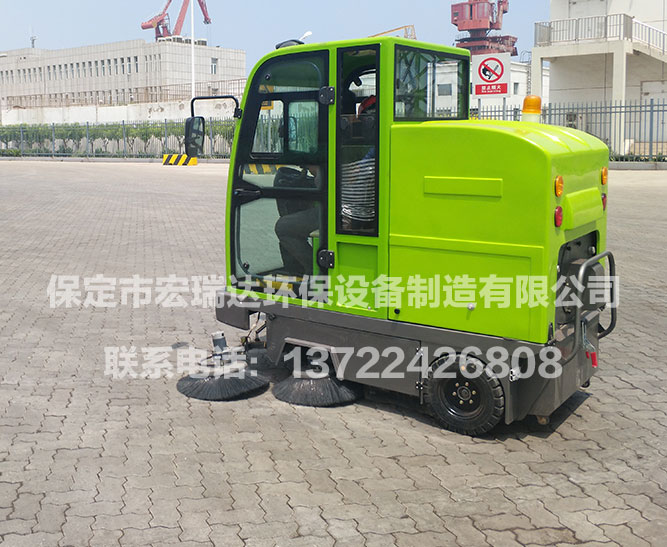 中粮集团天津有限公司 ● 2050全封闭驾驶式扫地车视频展示