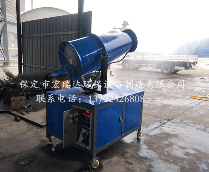 保定宏瑞达降尘喷雾机PW30—山西洪洞县安定水泥厂使用案例