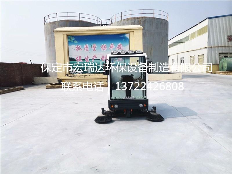 宏瑞达工业扫地车在天津水泥厂使用案例