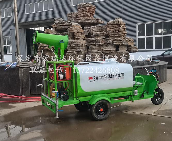 北京制造厂使用保定宏瑞达洒水雾炮车案例